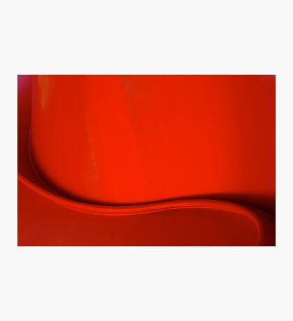 Red curve  Photographic Print