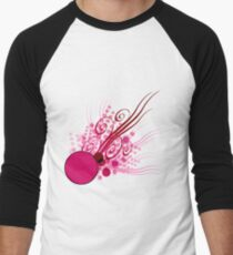 Abstract Digital Pink Bubbles T-Shirt