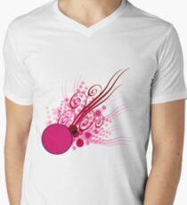 Abstract Digital Pink Bubbles T-Shirt
