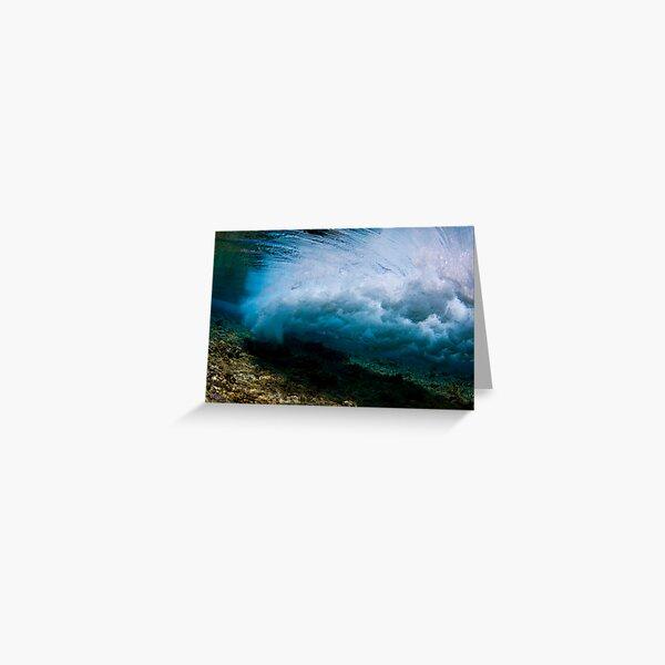 Underwater Storm Greeting Card