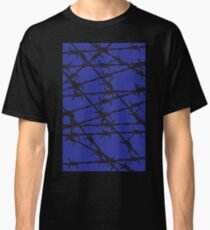 Barbed Wire [Blue] by Chillee Wilson Classic T-Shirt