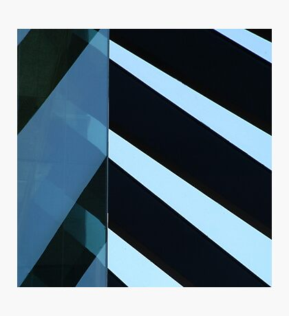 QB1 Stripes Photographic Print