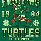 Kämpfende Schildkröten von Adho1982