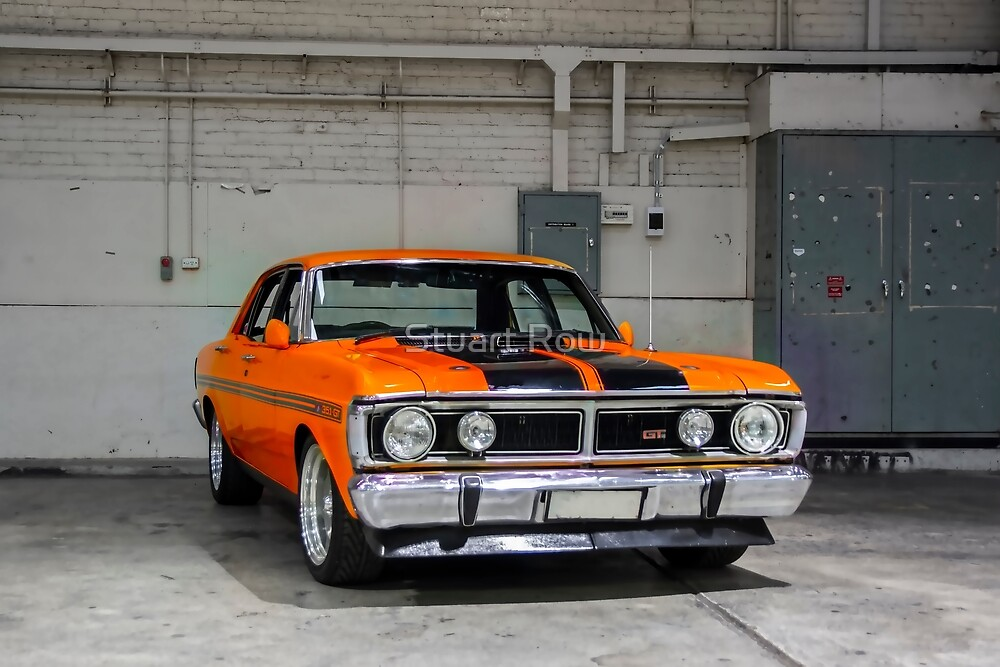 Red Ford Falcon XY GT by Stuart Row