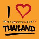Ich liebe Fullmoon-Partygeschenk Bangkoks Thailand von KingJames27x