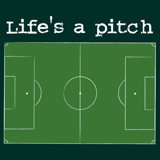 TShirtGifter presents: Life's a pitch