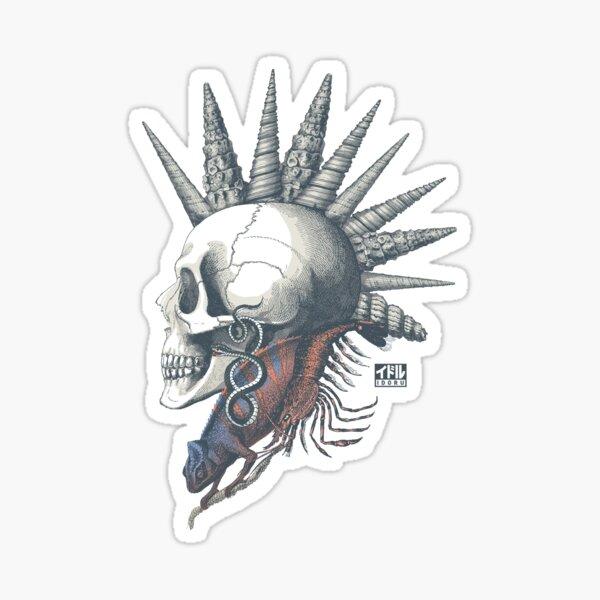 Punk is {not} Dead Sticker
