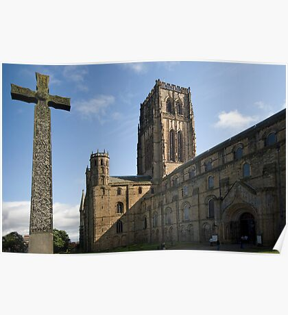 Durham Cathedral and The Cross Poster
