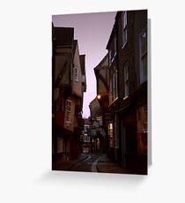 The Shambles - York Greeting Card