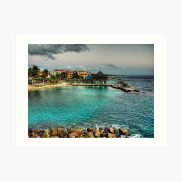 Avila Beach - Curacao Art Print
