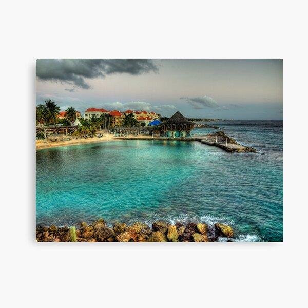 Avila Beach - Curacao Canvas Print
