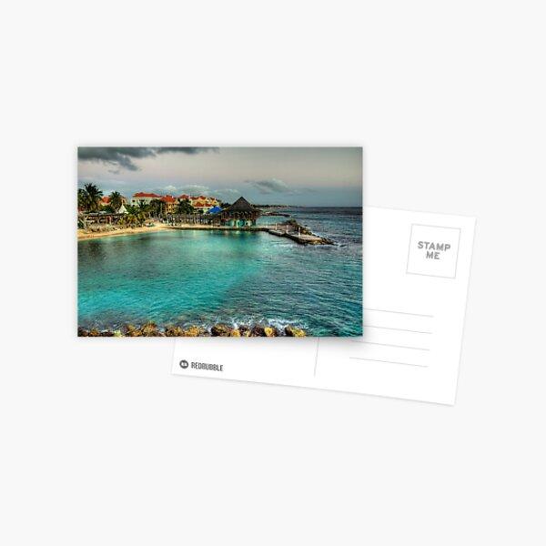 Avila Beach - Curacao Postcard