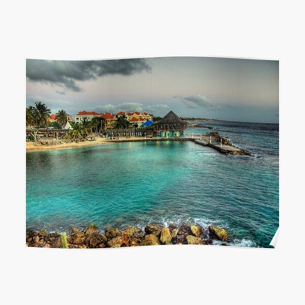 Avila Beach - Curacao Poster