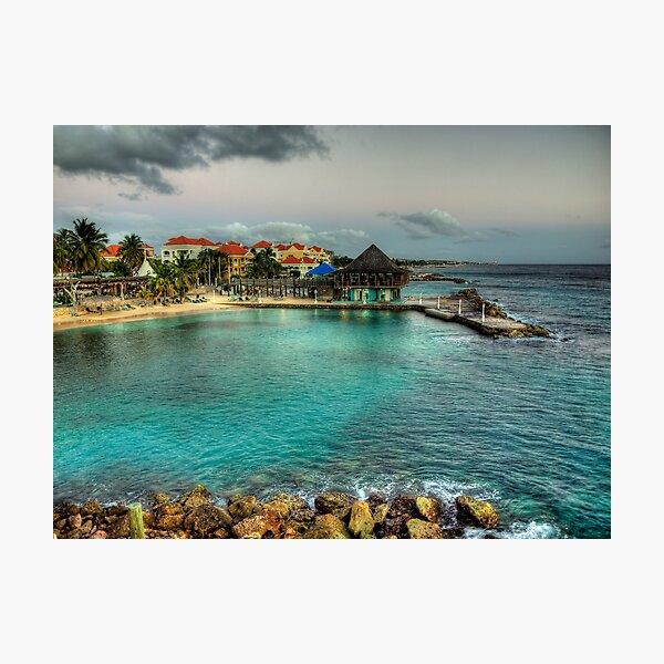 Avila Beach - Curacao Photographic Print