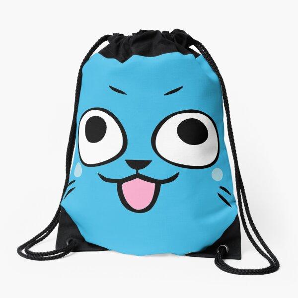 Happy face Drawstring Bag