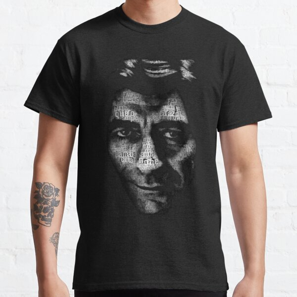 Cara de Joaquín sabina Camiseta clásica