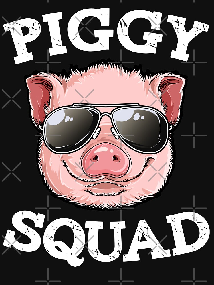Crazy Pig Lady T shirt Funny Pigs Farm Farmer Girls Gifts by LiqueGifts