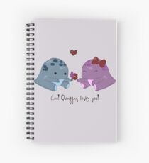 Quaggan loves you! Spiral Notebook