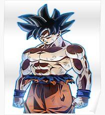 Póster Goku ultra instinto