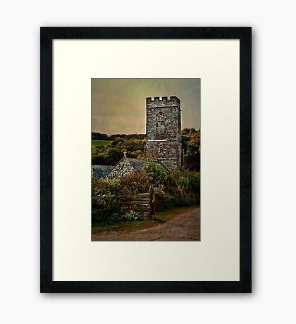 St Winnow Framed Print