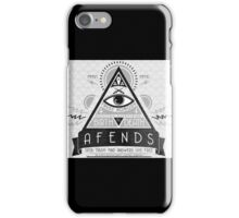 illuminati cover iPhone Case/Skin
