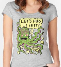Lets Hug It Out Women's Fitted Scoop T-Shirt