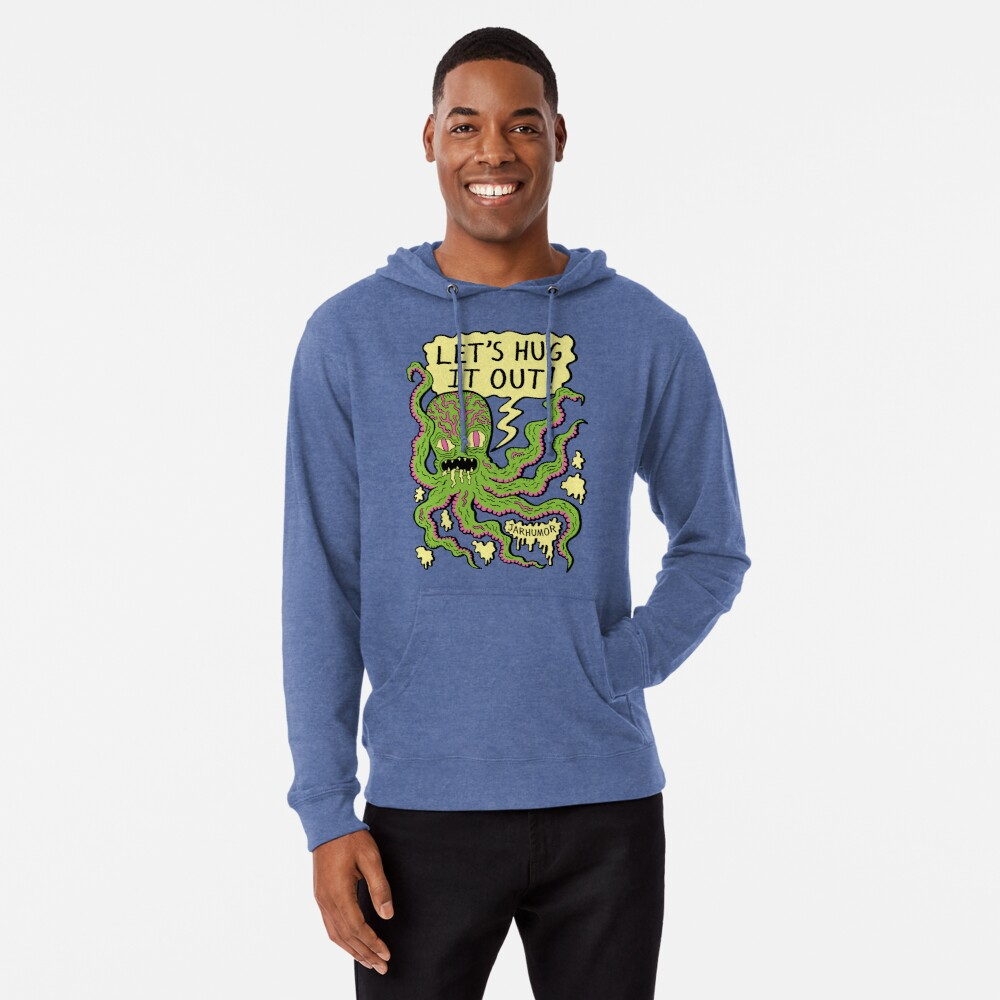 Lets Hug It Out Lightweight Hoodie