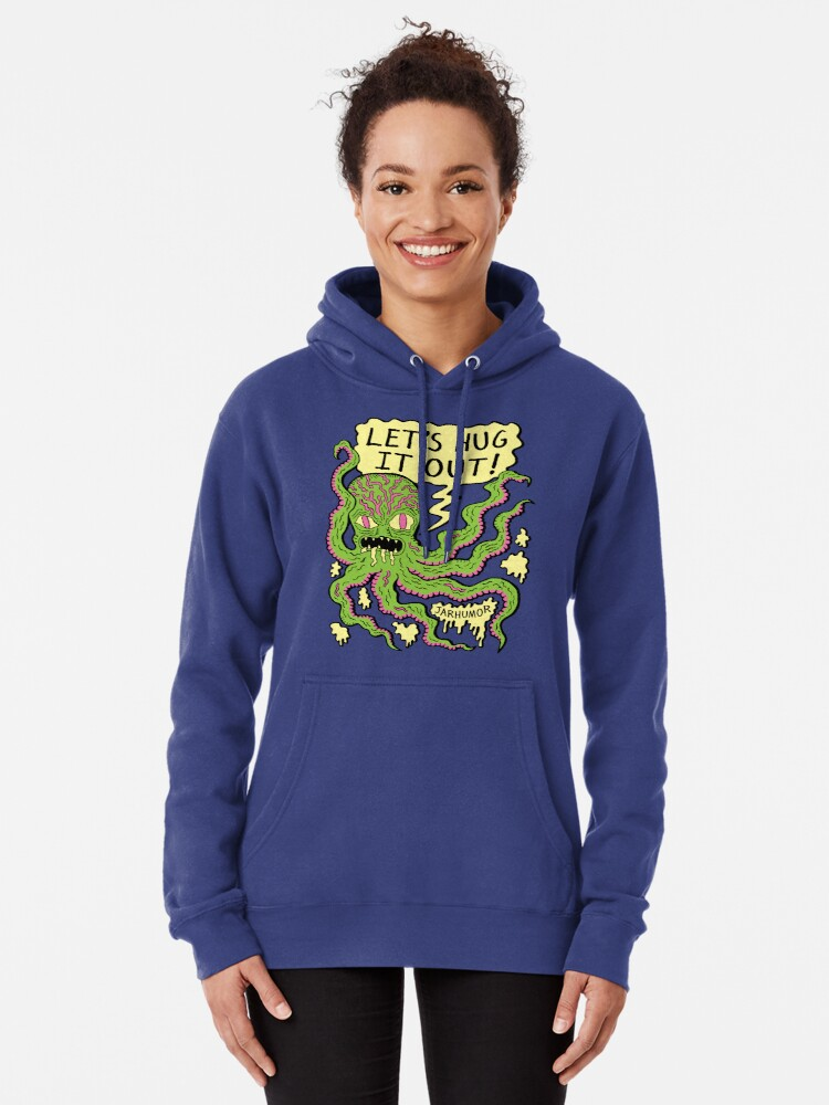 Alternate view of Lets Hug It Out Pullover Hoodie