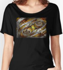 Steampunk - Spiral - Space time continuum Women's Relaxed Fit T-Shirt