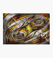 Steampunk - Spiral - Space time continuum Photographic Print