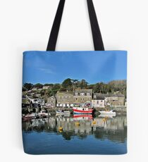 """""""The little Harbour of Padstow"""" Tote Bag"""