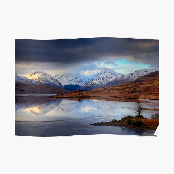 Loch Arklet and the Arrochar Alps Poster