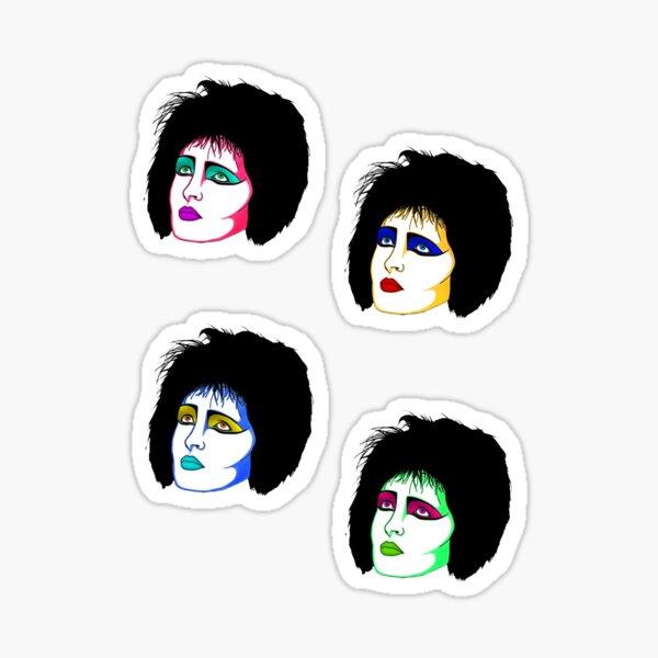 Siouxsie Sioux Sticker Set Sticker