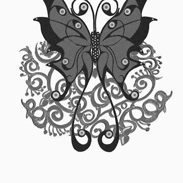 Grey Butterfly by ashlint