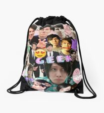 Dan & Phil Collage Drawstring Bag