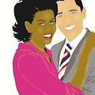 Michelle & President Obama~ by Lisa Michelle Garrett