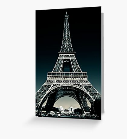 Legend - The Icon of Paris Greeting Card