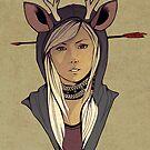 Chasing Deer by Eevien Tan
