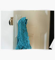 Blue Knickers Poster