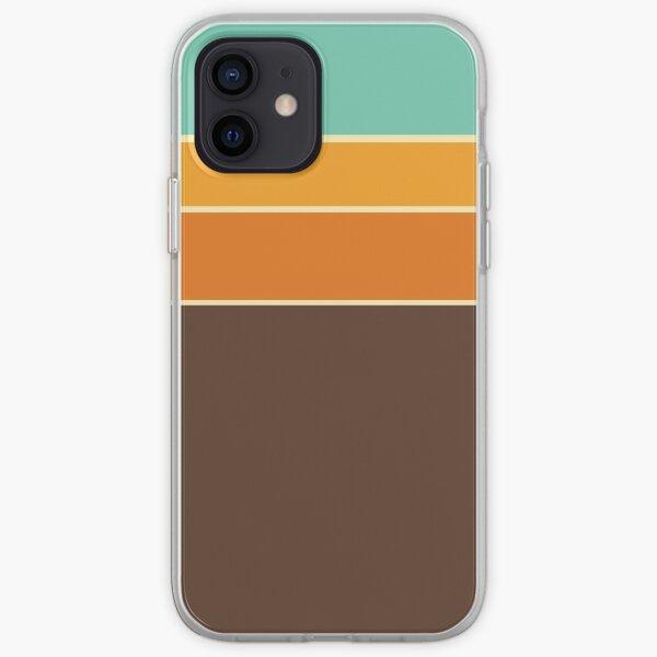 Retro Stripe Pattern iPhone Soft Case