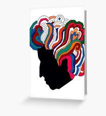 Bob Dylan Rainbow Greeting Card