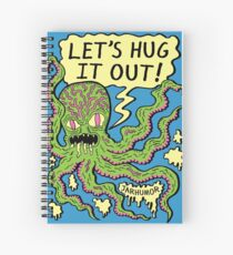 Lets Hug It Out Spiral Notebook