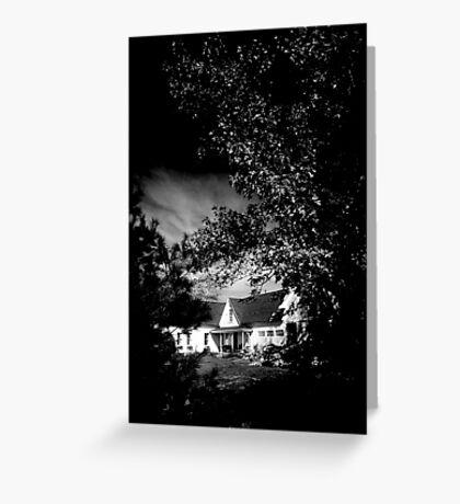 MAINE HOUSE, NEW ENGLAND USA Greeting Card