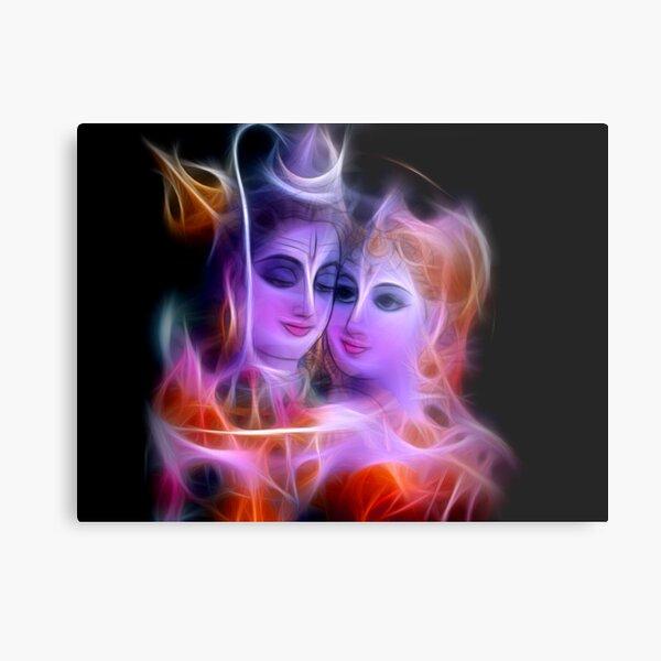 Shiv Parvati Metal Print By Sakshamputtu Redbubble 45 lord shiva and parvati romance. redbubble