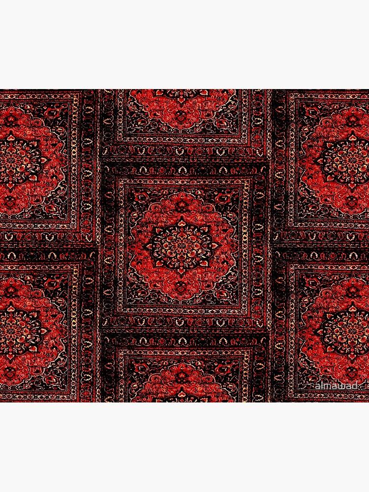 Persian carpet look in rose by almawad