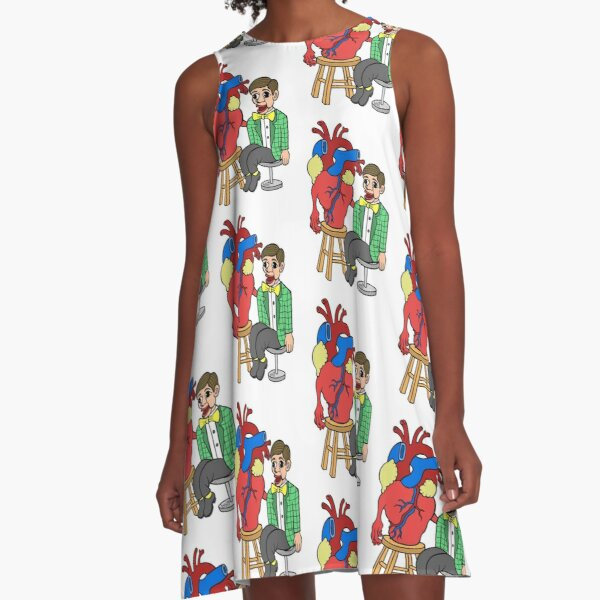 Ventriclist A-Line Dress