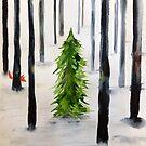 Begegnung im Winter von Marianna Tankelevich