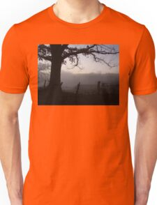A Smoky Mountain Fog Unisex T-Shirt