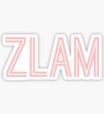 ZLAM sticker Sticker