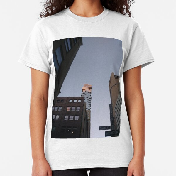 #NewYorkCity #NYC #NewYork #NY #Manhattan #business #city #architecture #sky #office #skyscraper #outdoors #technology #tower #modern #finance #cityscape #window #vertical #colorimage #nopeople Classic T-Shirt